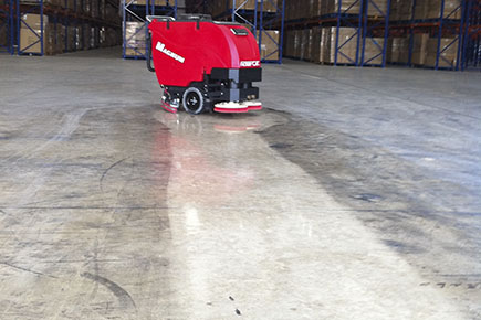 Industrial cleaning company industrial floor cleaning nj for How to clean polished floors