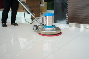 Floor buffing service