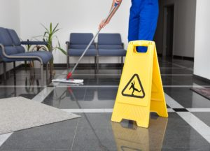 Corporate janitorial services